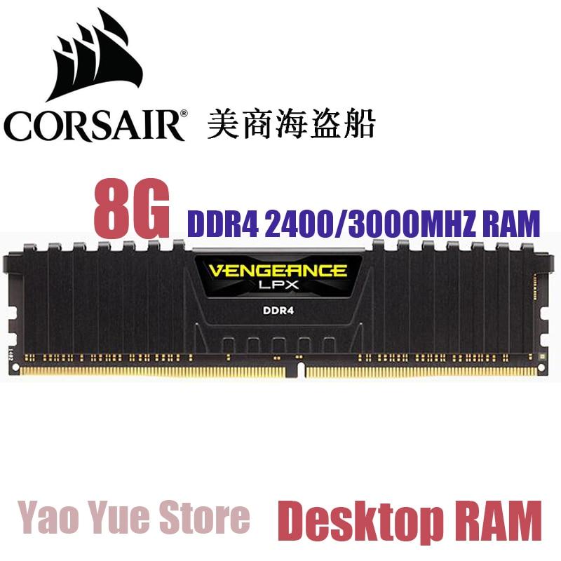 CORSAIR Vengeance LPX 8GB 8G DDR4 PC4 2400MHZ 3000MHZ 3200MHZ PC computer Desktop RAM ECC memory 8GB RAM corsair vengeance lpx 8gb 8g ddr4 pc4 3000mhz pc computer desktop ram ecc memory 8gb ram