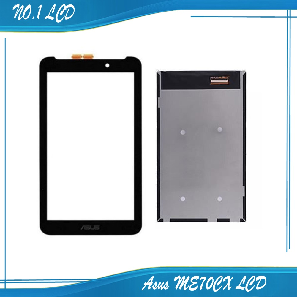 7 inch For ASUS MeMo Pad 7 ME70CX Touch screen + LCD Screen Display free shipping