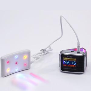 Image 2 - Diyabet terapötik alet 3 renk lazer izle tedavi yüksek tansiyon yüksek kan şekeri soğuk lazer sağlık
