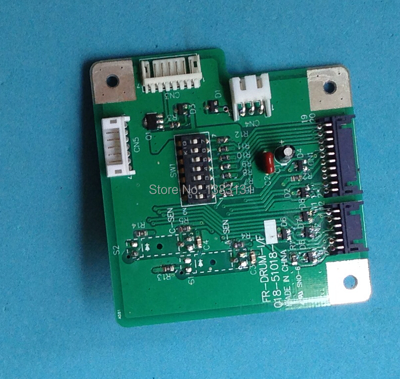 New Duplicator  BOARD DRUM CONTROL PCB II fit for  RISO FR  018-51018 FREE SHIPPING new duplicator drum body fit for riso gr a4 017 12004 free shipping