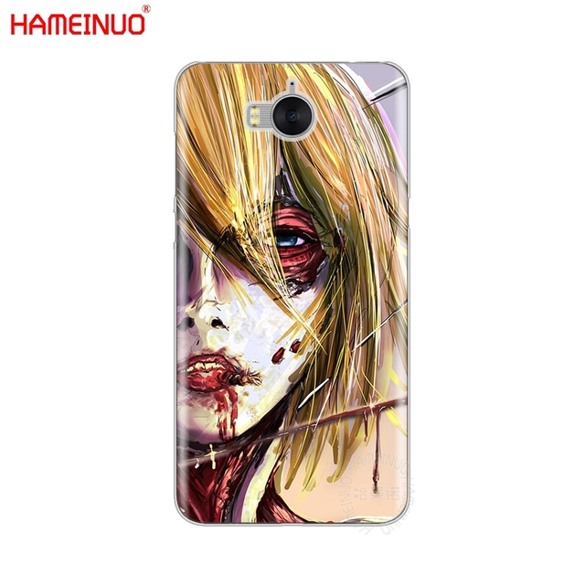 Attack on Titan Case Cover for Huawei Honor Models