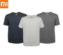 Xiaomi Ev t shirt Gevşek rahat pamuk Yumuşak narin Ferahlatıcı nefes Yaz kısa kollu Erkek