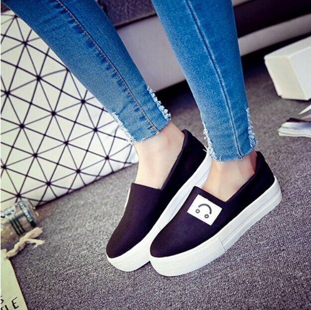 flat platform shoes Lazy shoes