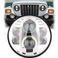 80 W LED linterna Auto 7 ''Ronda led faro de led de Conducción luz de la Cabeza de la lámpara para Jeep Wrangler 07-15 Hummer H1 H2 Harley