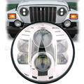 80W LED Auto headlight 7'' Round led headlight led Driving light Head lamp for Jeep Wrangler 07-15 Hummer H1 H2 Harley