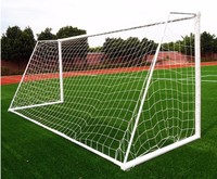 High quality!11V11 Soccer Goal Net Football Goal Net Size 7.26m*2.44m Polypropylene Football Net For 7 Person Soccer Match