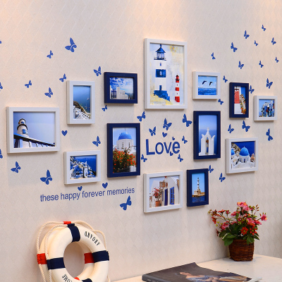2015 Favorite Picture Frame Photo Wall With 3M Command Picture Hanging  Strips Stickers Decorate For Sitting