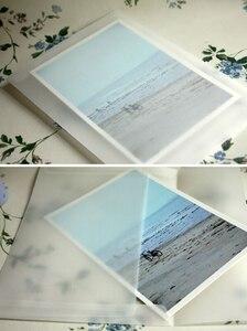 Image 1 - 50 шт./лот, новые корейские винтажные пустые прозрачные вельветовые конверты DIY, многофункциональные подарочные конверты