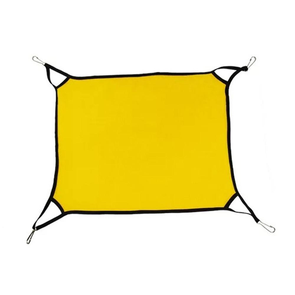 Кошка гамак кроватка кровать для домашних животных кровать теплая мягкая ткань прочный - Цвет: yellow