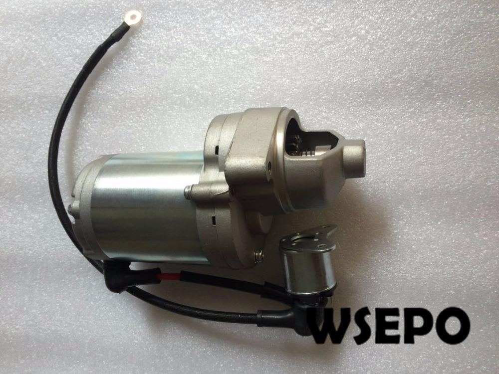 US $268 0 |OEM Quality! Electric Start Motor, Starter Fits for  Predator/Central Pneumatic 420cc Gasoline Air Compressor-in Generator Parts  &