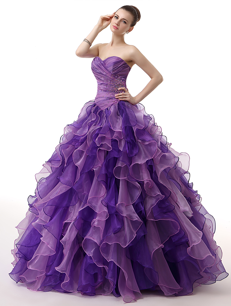 775a1ec819 H   S BRIDAL mieszane kolorowe tanie Organza suknia balowa suknie ...