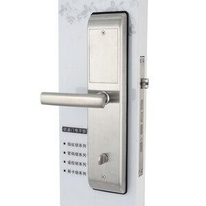 Image 5 - 無線 lan 指紋ドアロック盗難防止ドアロックスマートロックデジタルパスワード rfid アプリによるロック解除、コード、カード、キー