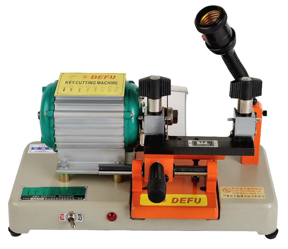 238RS Leaf Lock Key Cutting Machine 220v 110V Key Duplicating Machine For Making Keys Locksmith Tools