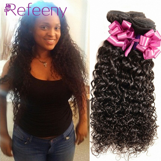 Virgin Malaysian Curly Hair Extensions 4 Bundles Cheap Malaysian