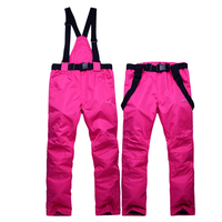 New Winter Women Warm Softshell Pants Skiing Pants Snowboard Outdoor Hiking Trousers Camping