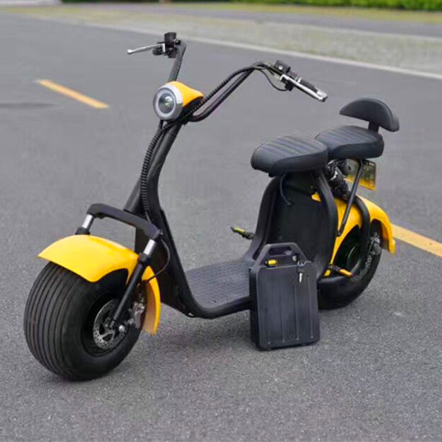 Big Wheel Electric Scooter with removable battery