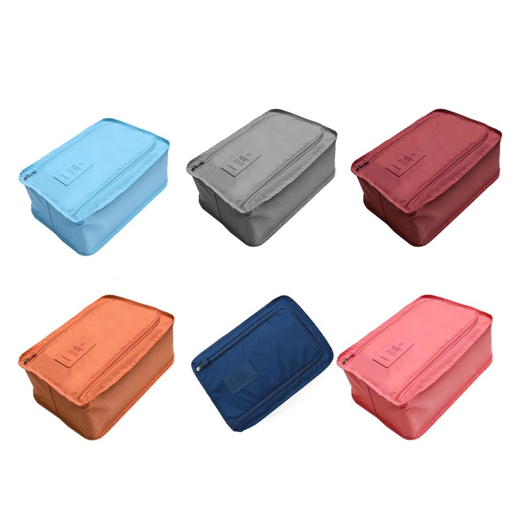 6 цветов, портативная нейлоновая Удобная дорожная сумка для хранения, органайзер, сумки для сортировки обуви, многофункциональная сумка