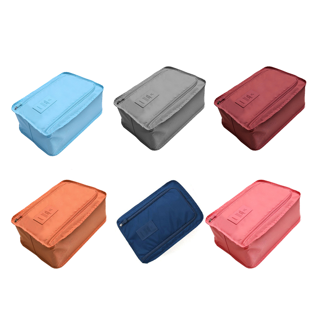 6 Color Portable Nylon Convenient Travel Storage Bag Organizer Bags Shoe Sorting Pouch multifunction