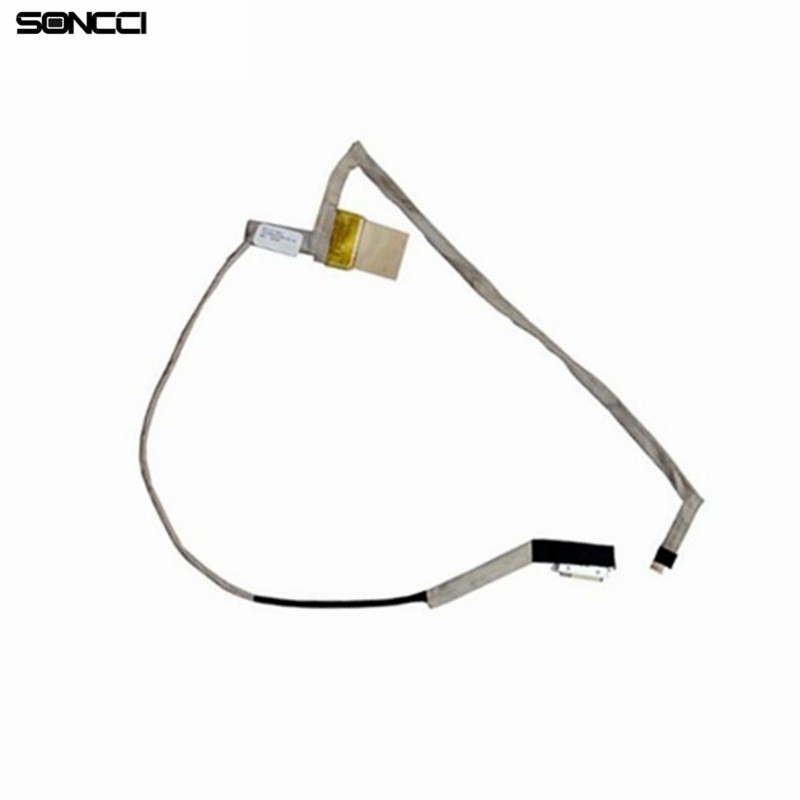 Soncci For Toshiba Satellite L750 L750D L755 L755D LCD video Cable laptop Lcd screen video cable For Toshiba L750 DD0BLBLC040 new lcd flex video cable for toshiba satellite l870 l875 l875d c870 c870d c875d c875 laptop lvds cable p n 1422 0159000