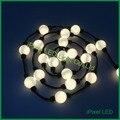 5050rgb sonho flutuante cor 360 visualização pixel led corda leve bola