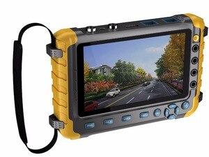 Image 4 - 5 بوصة TFT LCD 1080P 5MP 4 في 1 TVI AHD CVI التناظرية CCTV تستر الأمن فاحص الكاميرا رصد VGA HDMI المدخلات اختبار الصوت
