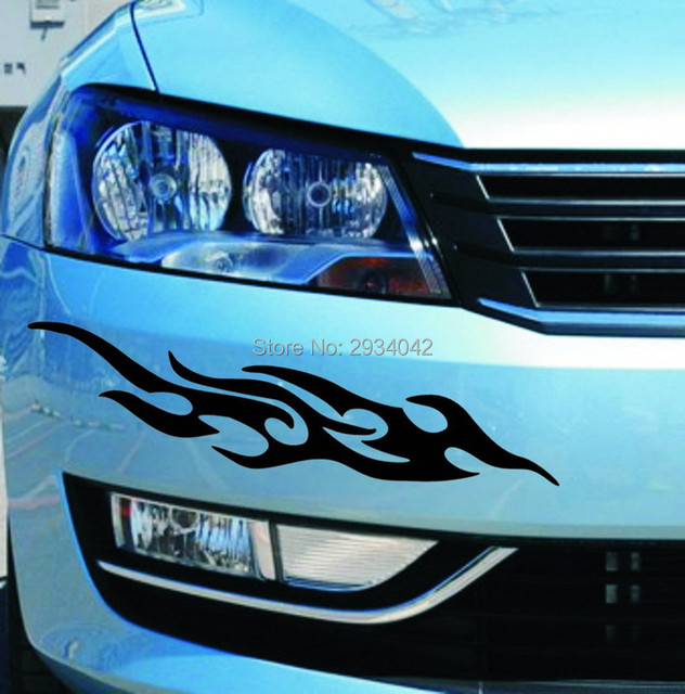 car accessories Fire Totem reflective stickers car stickers styling ...