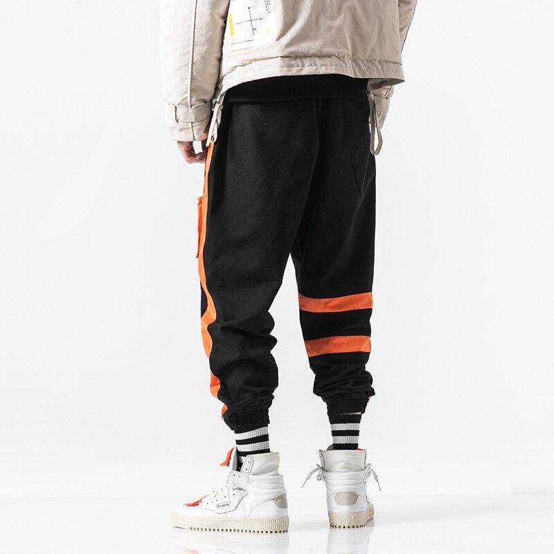 2019 Men Multi pocket Harem Hip Hop Pants Mens Joggers Trousers Streetwear Sweatpants Hombre Male Casual Fashion Cargo Pants Men in Cargo Pants from Men 39 s Clothing