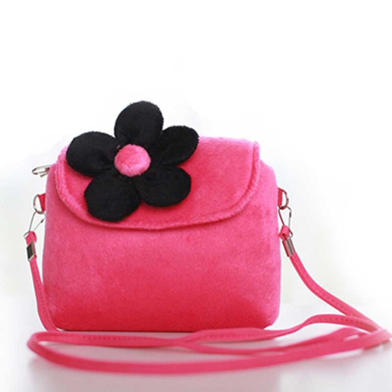 Mini Messenger Bag Cute Plush Cartoon Baby Small Coin Purses Children  Handbags Kids Shoulder Bags Gift 4d435cde678c