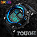 New 2017 Led Digital Watches Men Multifunction Chronograph Outdoor Sports Watches 50M Water Shock Resist Mens Wristwatches SKMEI