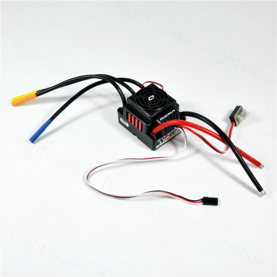 Hobbywing QuicRun-WP-8BL150 150A Waterproof Brushless ESC Speed Controller For 1/8 RC Buggy Monster Sport Car sensorless 35a brushless esc electric speed controller for rc car racing set ft