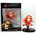 9 cm Lina Dota 2 Figura Kunkka Pudge Cazamareas Reina de Dolor Crystal Maiden PVC Figuras de Acción de Juguete