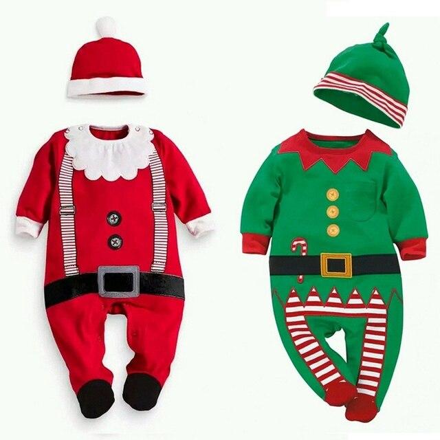 1 unids/lote navidad caliente regalo de papá noel de la ropa niños ...