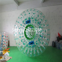 Free Shipping 2.5m Dia Inflatable Body Zorb Ball Zorb Water Ball Zorb Ball Inflatable Grass Wave Ball Snowball Free a Pump