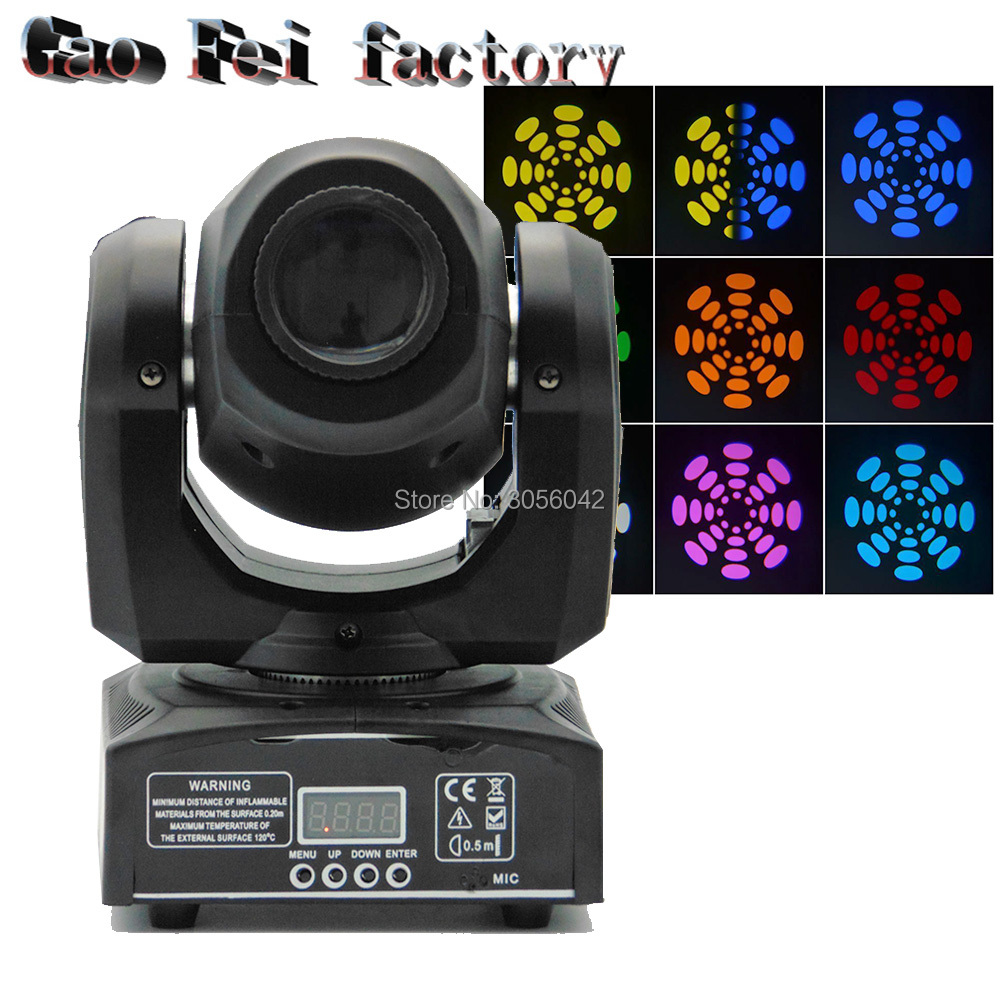 цены gobo moving head light 10w led dmx moving head equipment