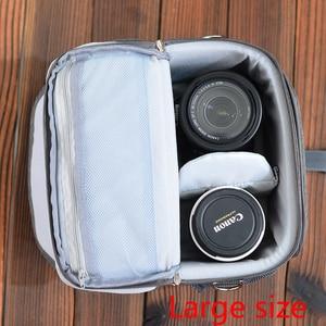 Image 4 - wennew New Waterproof Camera Bag for Nikon Canon SONY Panasonic Olympus FUJIFILM Photography Photo Case Lens Backpack DSLR Bag