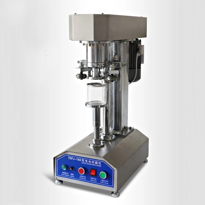 SHENLIN stainless steel zip top ring pull pop top can meatal cap sealing capping machine aluminum tin cans food jar capper