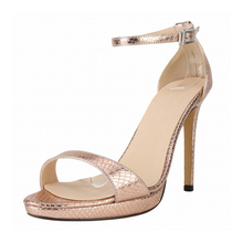 2018 Women Summer Sandals Thin High Heels Open Toe Casual Party Summer Pu Leather Ankle Strap Ladies Sandals NLK-C0107 цена и фото