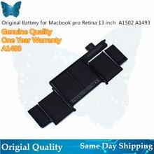 """Hurtownia baterii A1493 dla MacBook Pro 13 """"2013 Retina A1502 bateria ME864LL/A ME866LL/A ME865LL/A MGX72 ME864 ME866"""