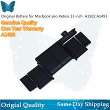 """Vente en gros A1493 batterie pour MacBook Pro 13 """"2013 Retina A1502 batterie ME864LL/A ME866LL/A ME865LL/A MGX72 ME864 ME866"""
