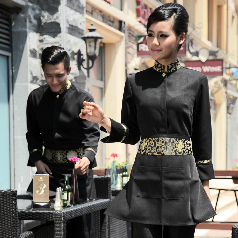 Online buy wholesale hotel waiter uniform from china hotel for Restaurant uniform shirts wholesale