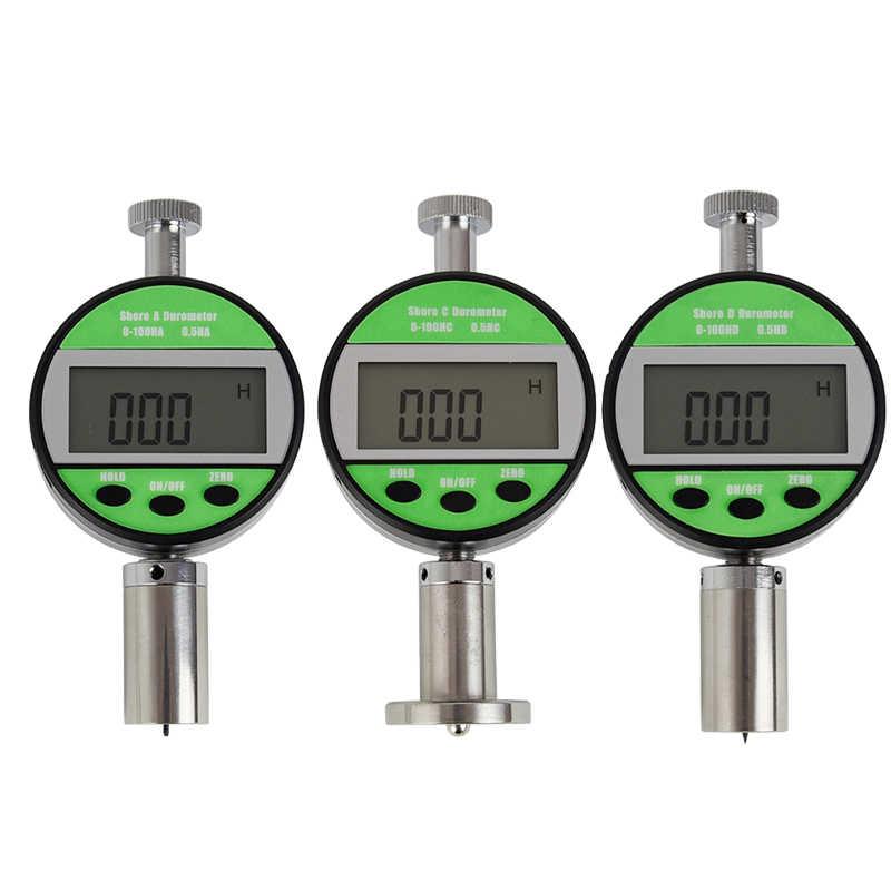 Portable Hardness Tester Durometer Digital Shore Hardness Tester Gauge LXD-D