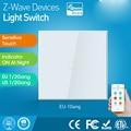 NEO Coolcam ZWave Plus 1CH Wand Licht Touch Schalter EU 868 4 MHZ Compatiable Mit Smartthings  Vera Fibaro Aeotec-in Gebäudeautomation aus Sicherheit und Schutz bei