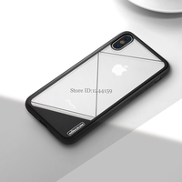 SFor IPhone X Cover 9H Hard Tempered Glass Panel Cover NILLKIN Case For IPhoneX High Quality