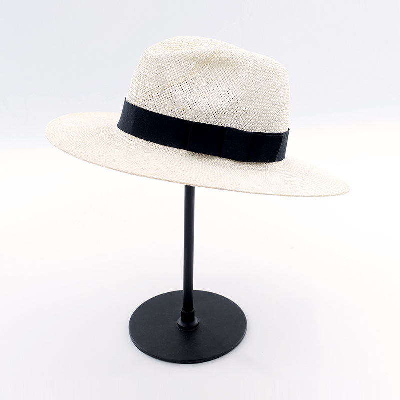 Muchique Fashion Sinamay Panama Hats for Women Summer Sun Hats Beach Hat  Top Quality Straw Hats for Men