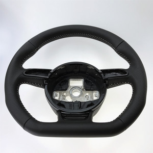 Image 3 - NoEnName_Null Audi A3 A4 A5 A6 A7 Q3 Q5 Q7 tam delikli direksiyon düz alt direksiyon kampanyası