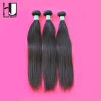 HJ Weave Beauty Brazilian Virgin Hair Straight Human Hair Weaves 6A Brazilian Straight Hair 3PCS/LOT Free Shipping