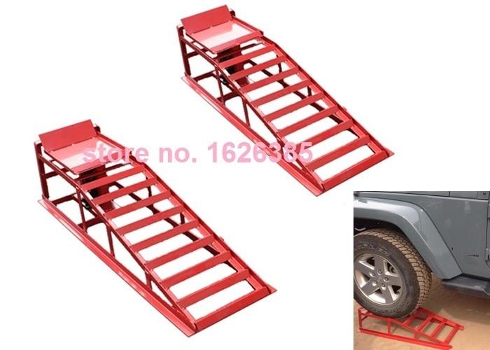 Discount Tire Oil Change >> 2pcs 1pair Car support ramp, change oil maintenance ramp, tire repairing tool -in Tire Repair ...