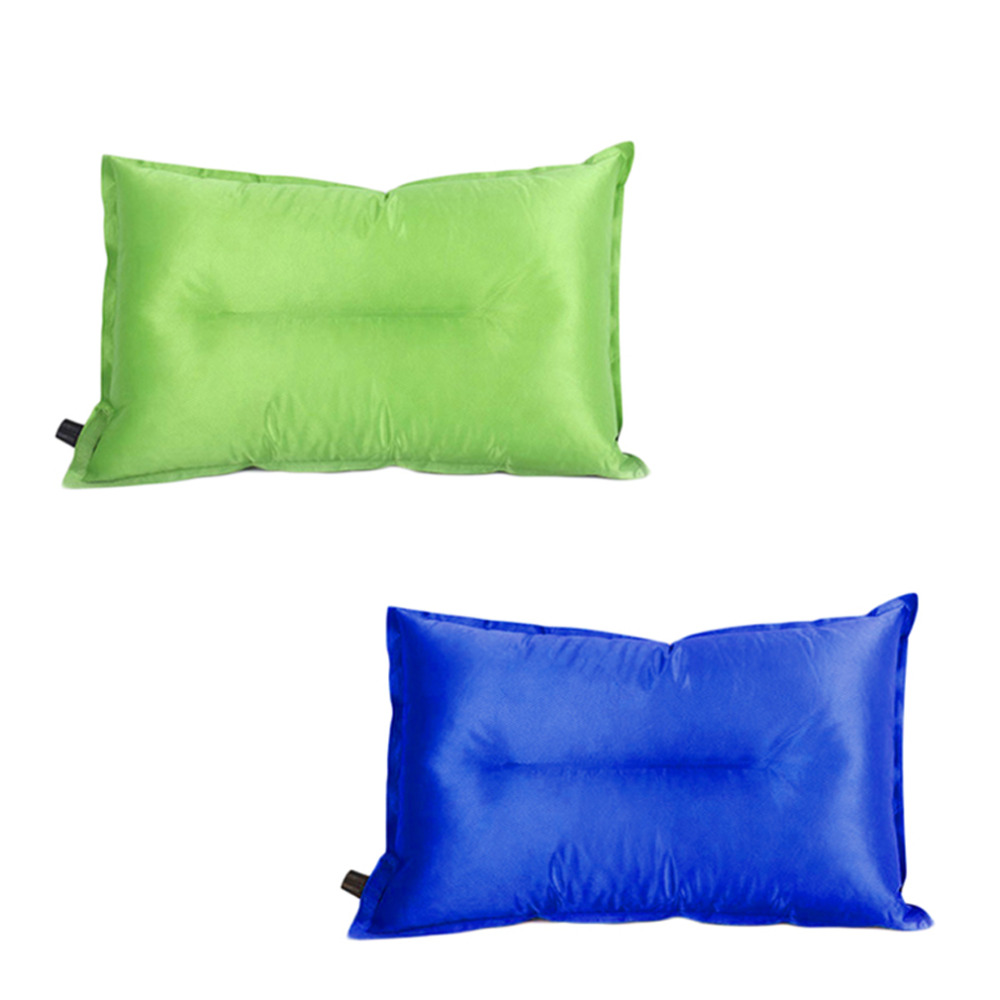 Lightweight Inflatable Air Cusion Pillow for Outdoor Camping Hiking Travel