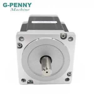 Image 5 - NEMA 34 מנוע צעד 86X114mm 8.7 N. m 6A 14mm פיר דורך מנוע 1172Oz in עבור CNC לייזר חריטת מכונה