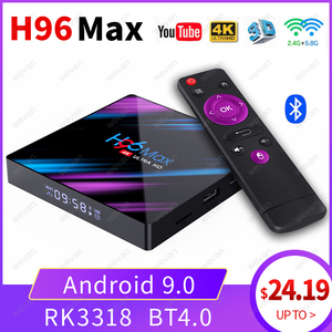 H96 MAX TV Box Android 9.0 2GB